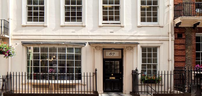 EOS IM - sede Londra - 67 Grosvenor st exterior
